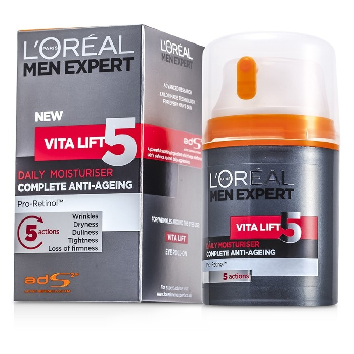 l 39 oreal men expert vita lift 5 daily moisturiser fresh. Black Bedroom Furniture Sets. Home Design Ideas