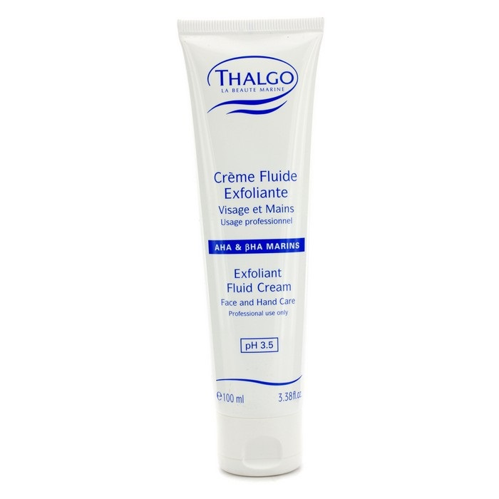 thalgo exfoliant fluid cream with aha bha face hand care salon size fresh. Black Bedroom Furniture Sets. Home Design Ideas