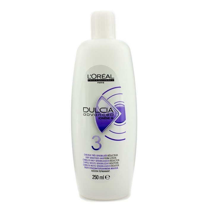 L 39 oreal dulcia advanced perm lotion 3 very sensitised for Loreal salon hair products