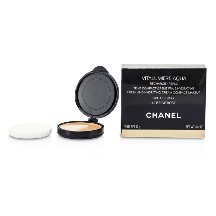 Chanel Vitalumiere Aqua Fresh And Hydrating Cream Compact
