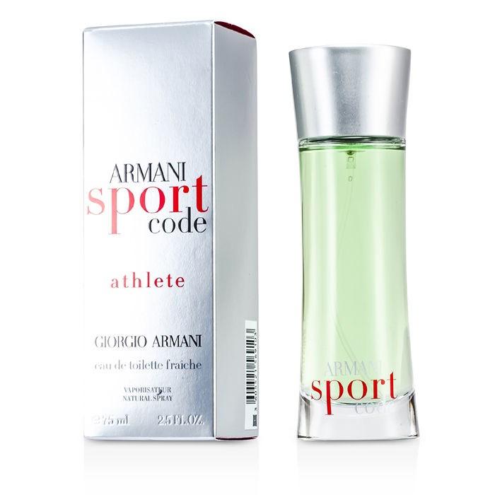 giorgio armani armani code sport athlete edt spray fresh. Black Bedroom Furniture Sets. Home Design Ideas