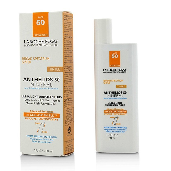 la roche posay anthelios 50 mineral tinted ultra light sunscreen fluid. Black Bedroom Furniture Sets. Home Design Ideas