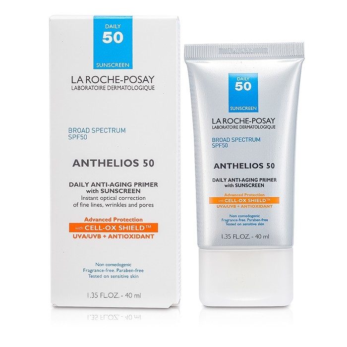 la roche posay anthelios 50 daily anti aging primer with suncreen fresh. Black Bedroom Furniture Sets. Home Design Ideas