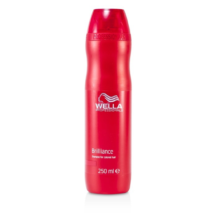 Wella Brilliance Shampoo For Color Treated Hair Fresh