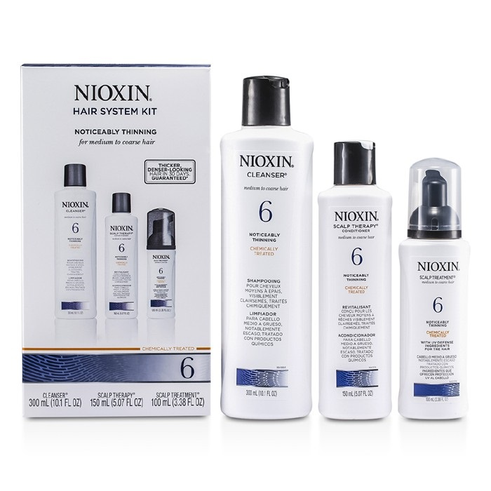 Nioxin System 6 Kit For Medium To Coarse Amp Normal To Thin