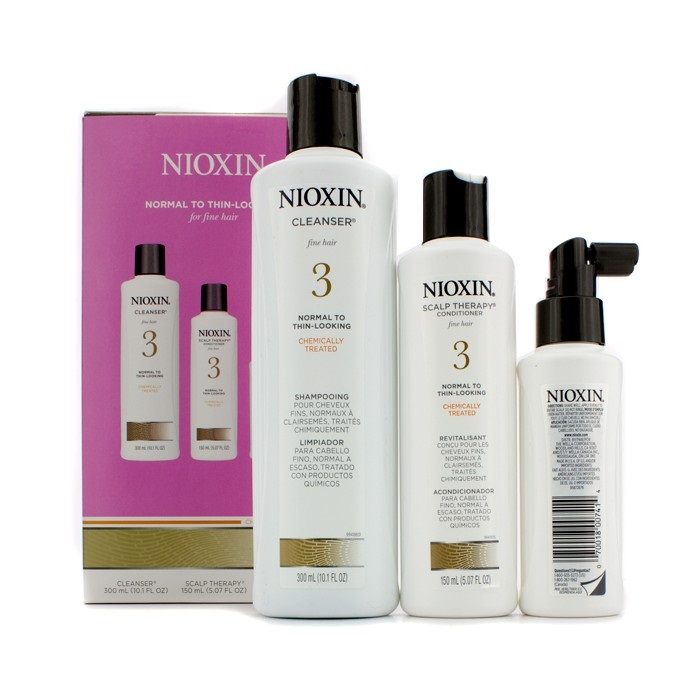 Nioxin System 3 System Kit For Fine Hair Chemically