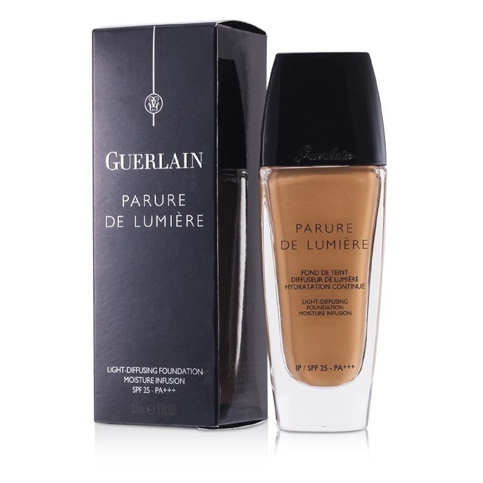 salvare vari stili più nuovo di vendita caldo Guerlain Parure De Lumiere Light Diffusing Fluid Foundation SPF 25 - # 24  Dore Moyen Makeup