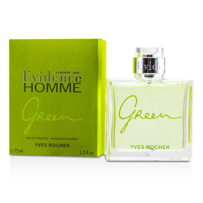 Yves Rocher New Zealand Comme Une Evidence Green Edt Spray By Yves