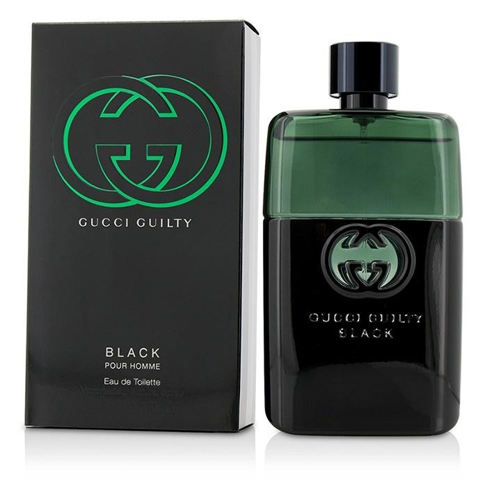 Detalles acerca de Gucci Guilty Black Pour Homme EDT Spray 90ml para Hombre  Perfume- mostrar título original 8da2f8beb26