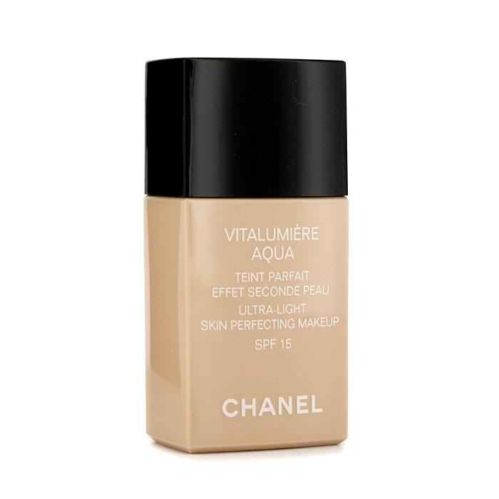 chanel vitalumiere aqua ultra light skin perfecting makeup spf15 30 beige fresh. Black Bedroom Furniture Sets. Home Design Ideas