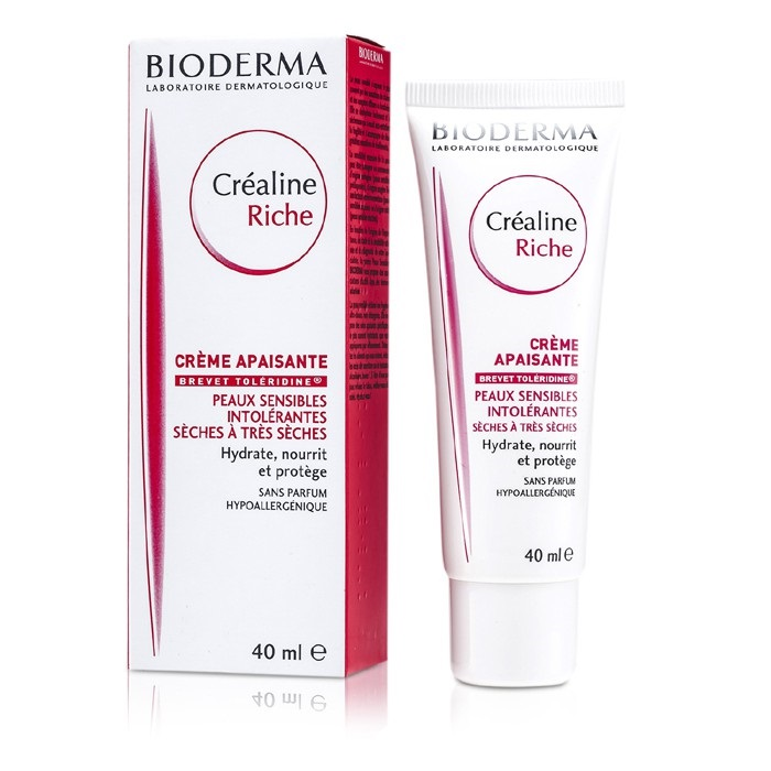 how to use bioderma crealine