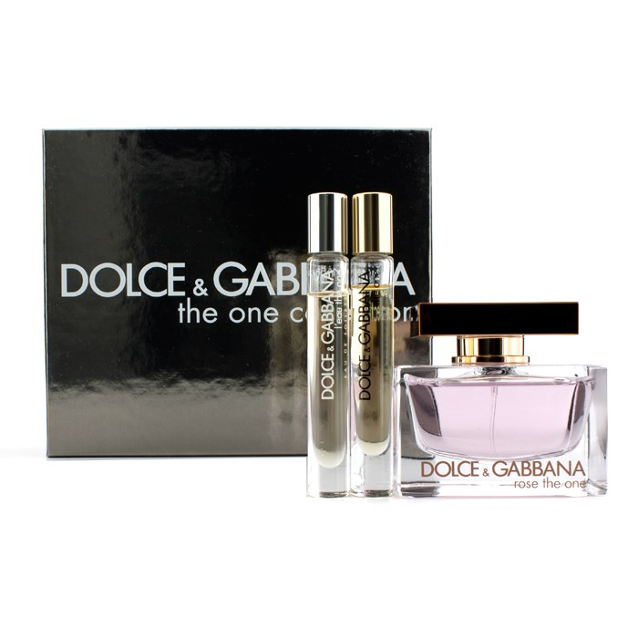 714cee0bb2 Dolce & Gabbana The One Collection Coffret: Rose The One EDP Spray 75ml/2.5.  Loading zoom