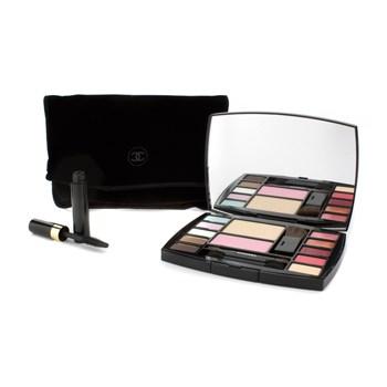 74a4971f Chanel Travel Makeup Palette Altitude: 1x Face Powder, 1x Blush, 1x  Concealer, 5x Eyeshadow, 2x Lip Gloss, 2x Lipstick, 1x Mini Mascara, 4x  Applicator ...