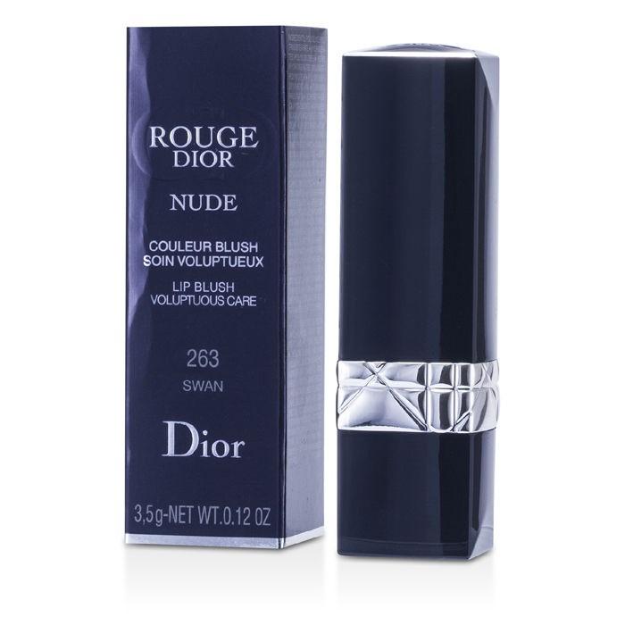Christian Dior Rouge Dior Nude Lip Blush Voluptuous Care Lipcolor - No 263 Swan -5391