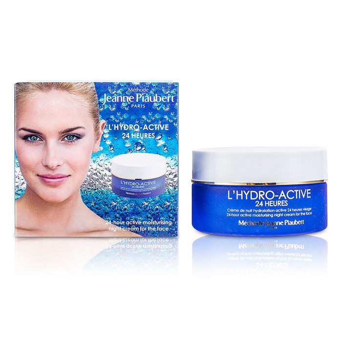 L Hydro Active 24 Heures Active Moisturising Night Cream For The Face Methode Jeanne Piaubert F C Co Usa
