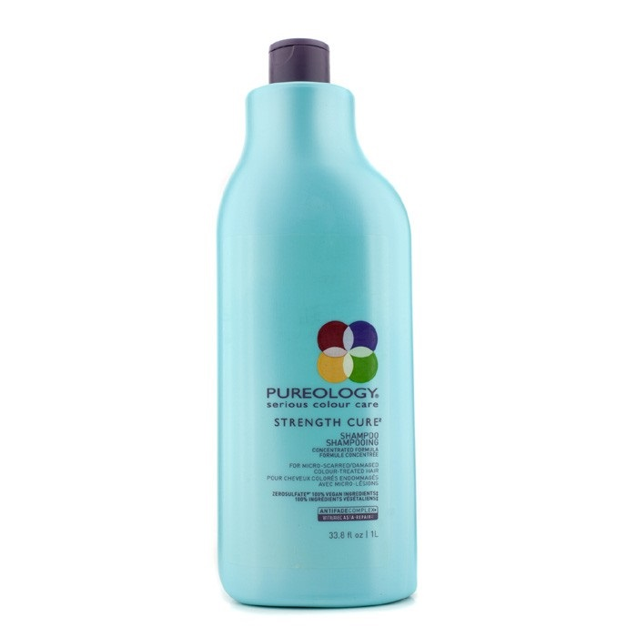 Strength Cure Shampoo (For Micro-Scarred/Damaged Colour ...