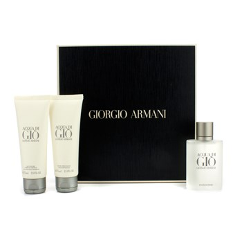 bacd191bf079 Giorgio Armani Acqua Di Gio Coffret  EDT Spray 50ml 1.7oz + All Over ...