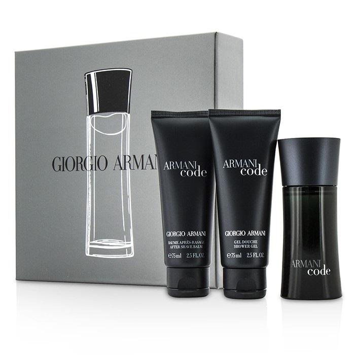 22618da269aa Giorgio Armani Armani Code Coffret  EDT Spray 50ml 1.7oz + After Shave Balm.  Loading zoom