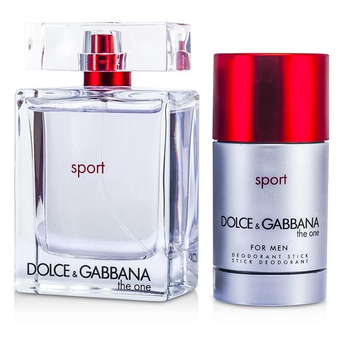 49c149941b99f Dolce   Gabbana The One Sport Coffret  EDT Spray 100ml 3.3oz + Deodorant.  Loading zoom