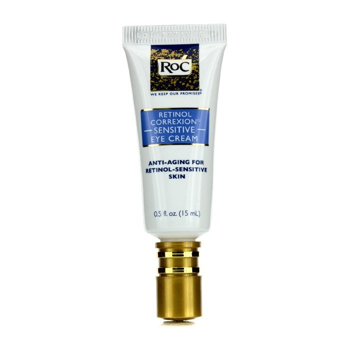 roc retinol correxion sensitive eye cream sensitive skin fresh. Black Bedroom Furniture Sets. Home Design Ideas