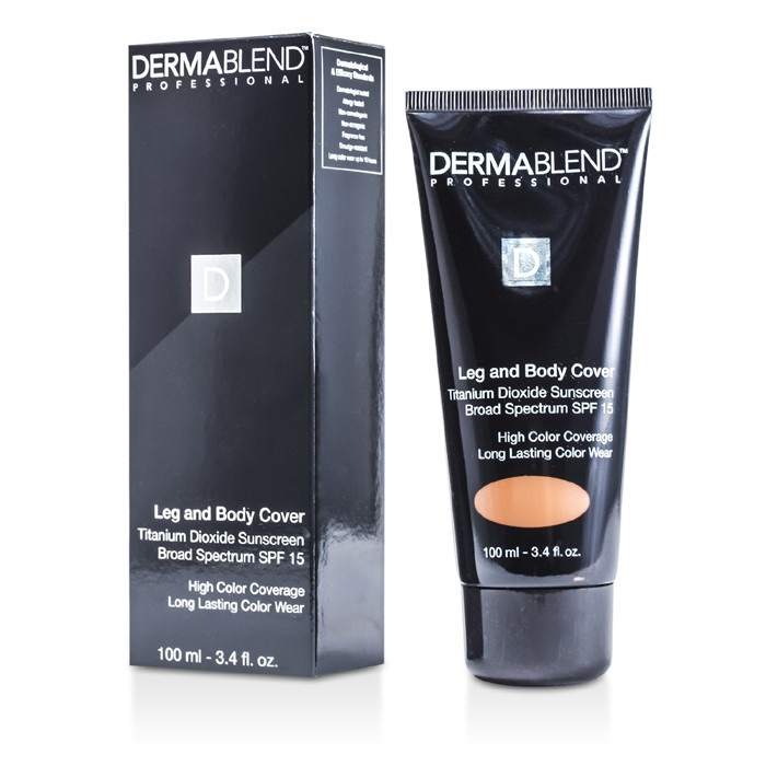 Dermablend Leg & Body Cover SPF 15 (Full Coverage & Long Wearability) - Dark. Loading zoom