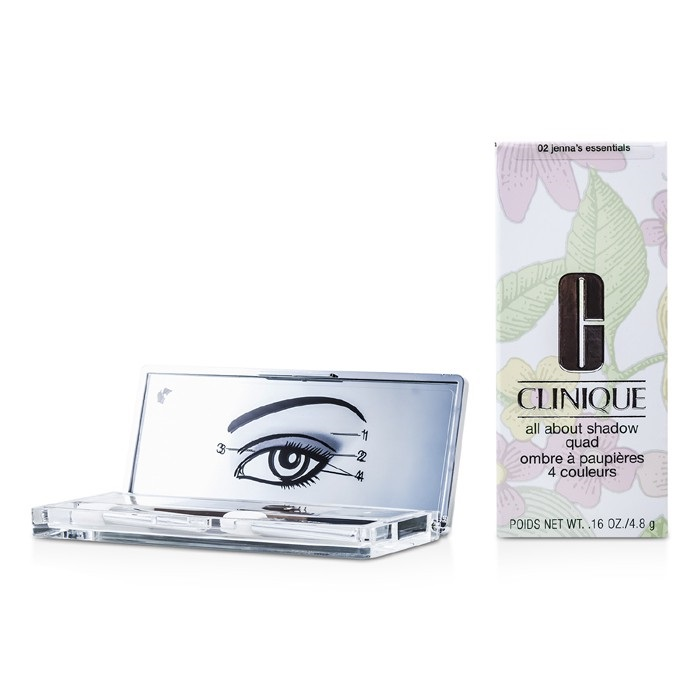 Clinique All About Shadow Quad 02 Jenna S Essentials