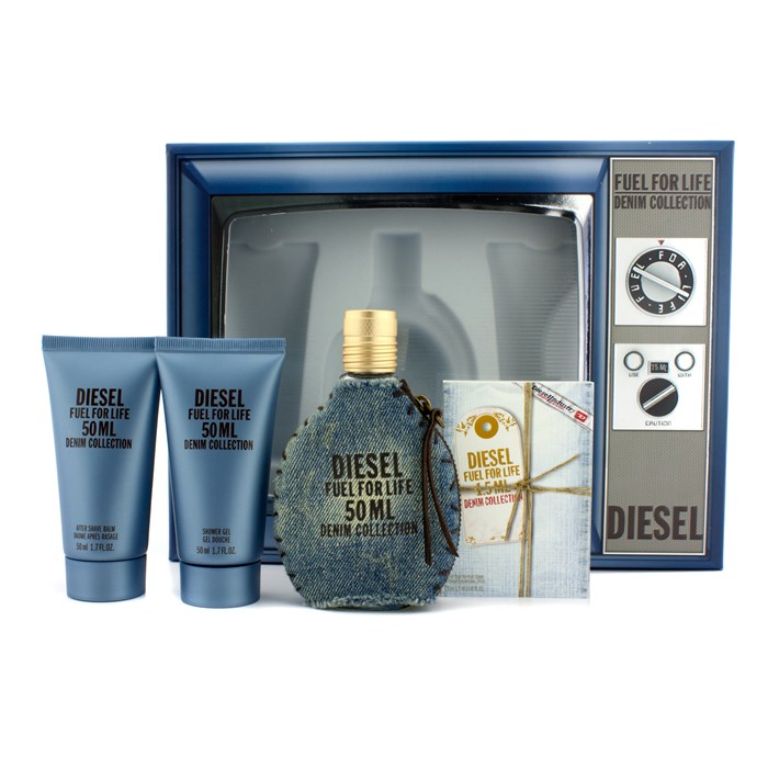 21769a2b Diesel Fuel For Life Denim Collection Homme Coffret: EDT Spray 50ml/1.7oz  +. Loading zoom