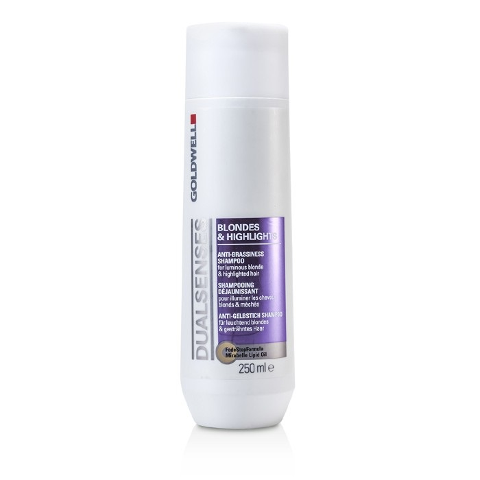 Dual Senses Blondes Highlights Anti Brassiness Shampoo For