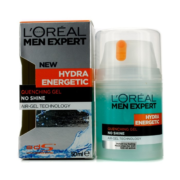 l 39 oreal men expert hydra energetic quenching gel pump fresh. Black Bedroom Furniture Sets. Home Design Ideas