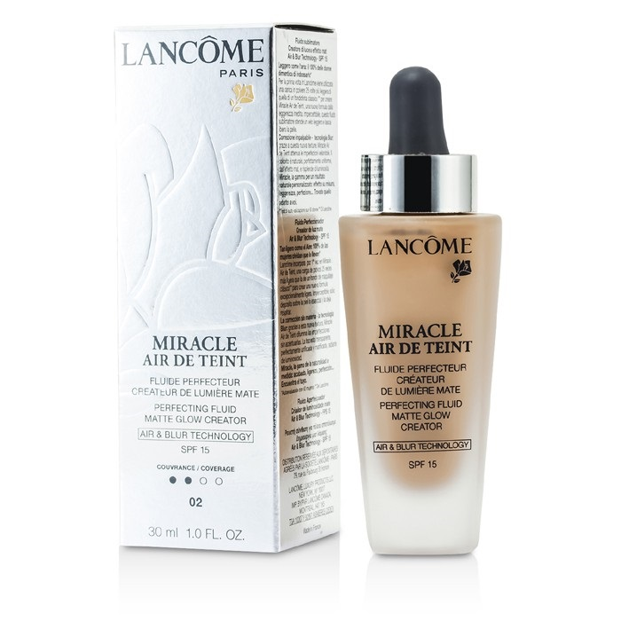Lancome Miracle Air De Teint Perfecting Fluid SPF 15 - # 02 Lys Rose   Fresh™