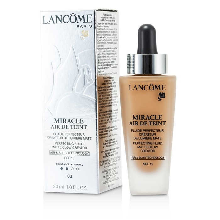 lancome miracle air de teint perfecting fluid spf 15. Black Bedroom Furniture Sets. Home Design Ideas
