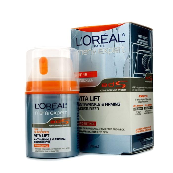 0af39a8b2c65 L'Oreal Men Expert Vita Lift Anti-Wrinkle & Firming Moisturizer SPF 15 (Box  Slightly Damaged) Men's Skincare