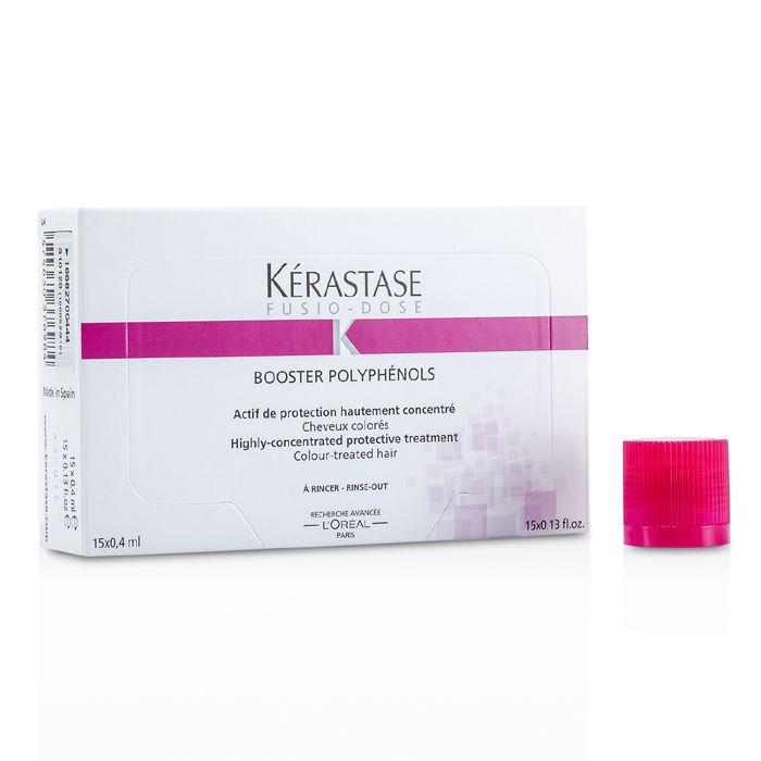 Kerastase fusio dose booster polyphenols highly concentrated protective treatment for colour - Kerastase salon treatment ...