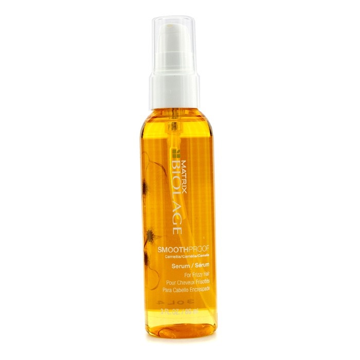 smoothing serum for curly hair