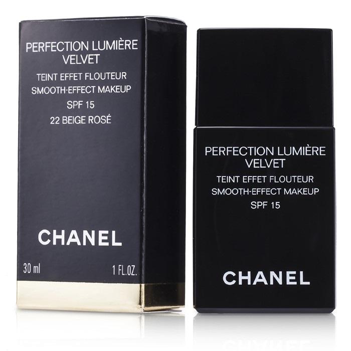 chanel perfection lumiere velvet smooth effect makeup. Black Bedroom Furniture Sets. Home Design Ideas