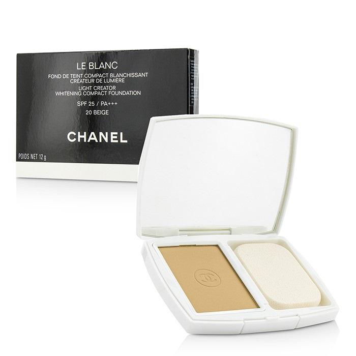 1c4b8e86e9 Chanel Le Blanc Light Creator Whitening Compact Foundation SPF 25 - # 20  Beige Makeup