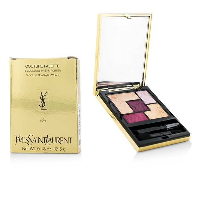 Yves Saint Laurent Couture Palette 5 Color Ready To Wear 09 Love