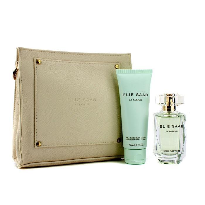Elie saab le parfum l 39 eau couture coffret edt 50ml for Coffret de couture