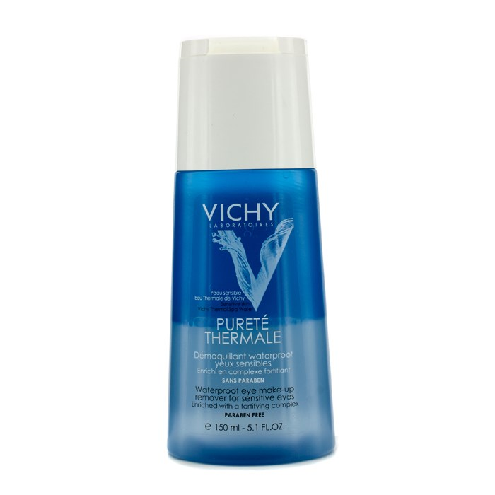 Vichy Purete Thermale Waterproof Eye Make-Up Remover (For Sensitive Eyes) | Freshu2122