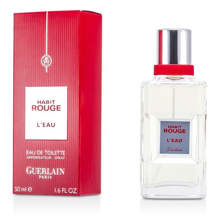 guerlain habit rouge l 39 eau edt spray fresh. Black Bedroom Furniture Sets. Home Design Ideas