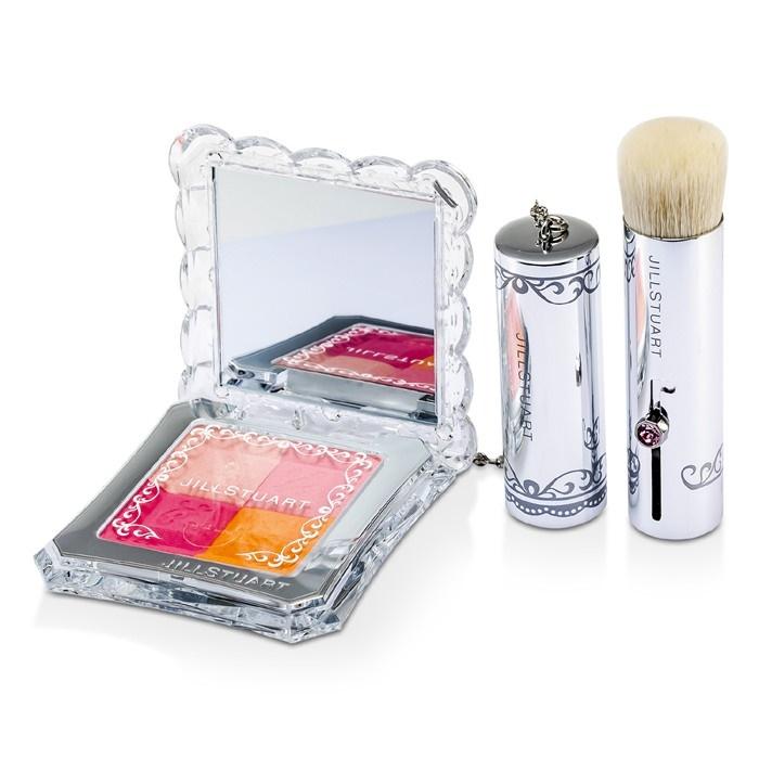 Jill Stuart Mix Blush Compact N (4 Color Blush Compact + Brush) -  .  Loading zoom 77f408dc5d