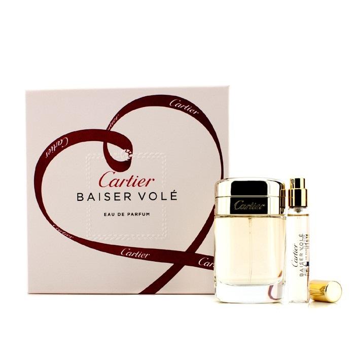 Cartier Baiser Vole Coffret Edp Spray 50ml16oz Edp Spray 9ml