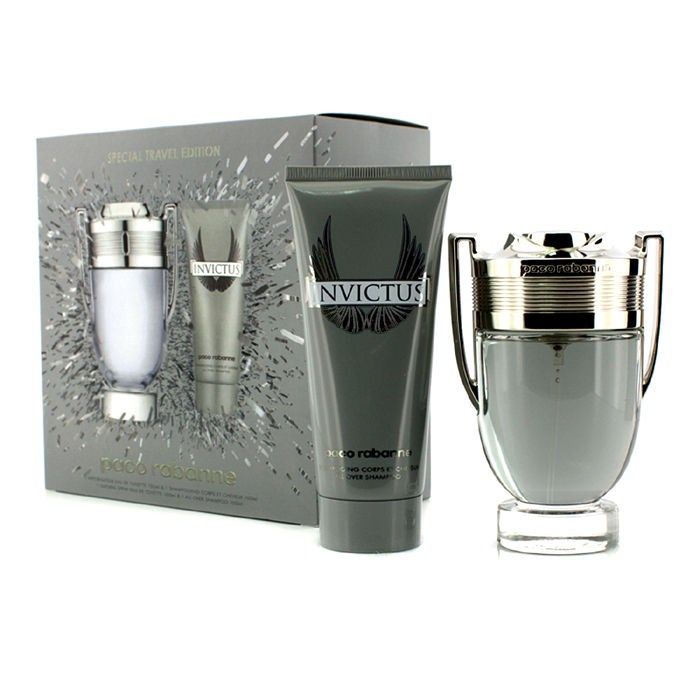 paco rabanne invictus special travel edition coffret edt. Black Bedroom Furniture Sets. Home Design Ideas