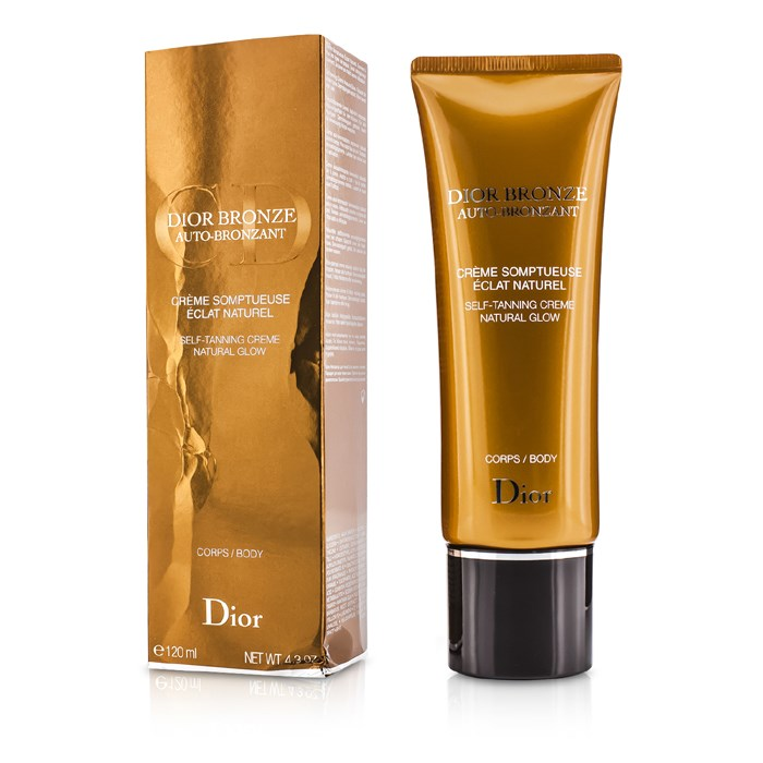 8a2af047 Christian Dior Dior Bronze Self Tanner Cream Natural Glow For Body (Box  Slightly Damaged) Skincare