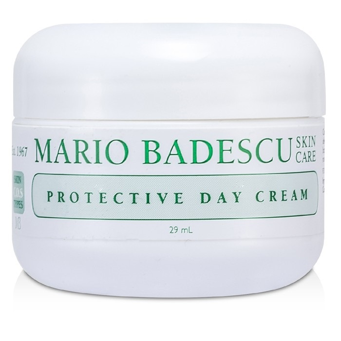 Mario Badescu - Protective Day Cream - For Combination/ Dry/ Sensitive Skin Types -29ml/1oz Revision Hydrating Serum, 1 Fluid Ounce
