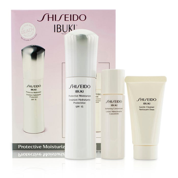 Shiseido - IBUKI Protective Moisturizer SPF15 - 75ml/2.5oz Evening Primrose Age Revitalizing Eye and Lip Cream, .34 Fluid Ounce, Treatment Cream - Renewing and Cooling By Weleda