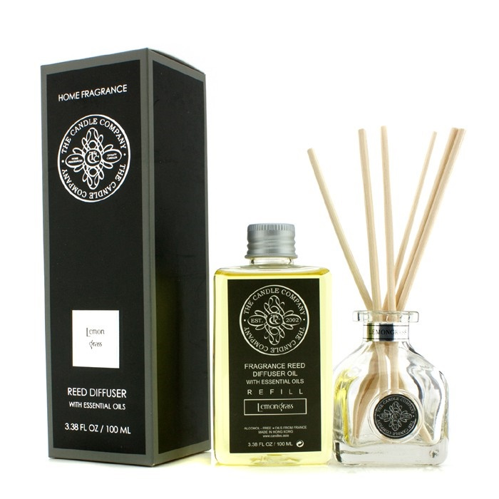 The Candle Company Reed Diffuser with Essential Oils ...
