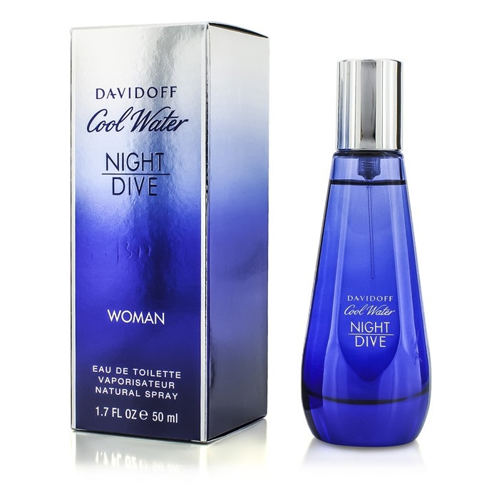 Cool water night dive woman edt spray davidoff f c co usa - Davidoff night dive ...
