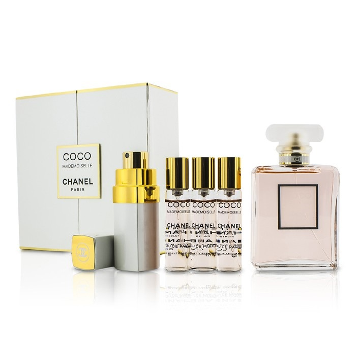 3f5e5e3def50 Chanel Coco Mademoiselle Coffret  EDP Spray 50ml 1.7oz + Purse Spray with  3. Loading zoom
