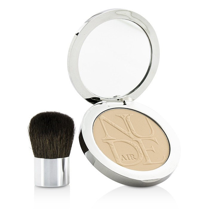 christian dior diorskin nude air healthy glow invisible powder with kabuki brush 020 light. Black Bedroom Furniture Sets. Home Design Ideas